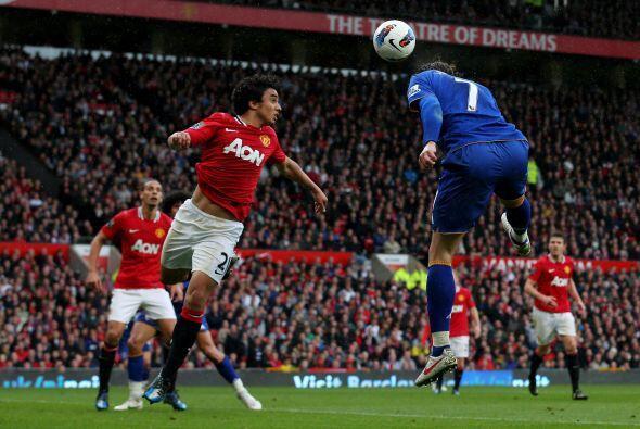 El croata del Everton fue una pesadilla para el Manchester United.
