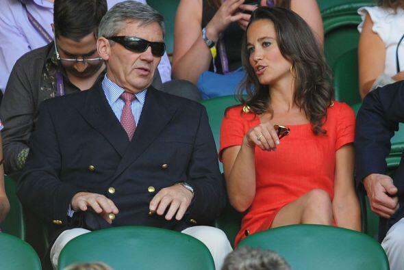 Sin duda, la familia Middleton fueron el centro de atención en Wimbledon.