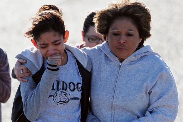 Los estudiantes sufrieron heridas pero están fuera de peligro.