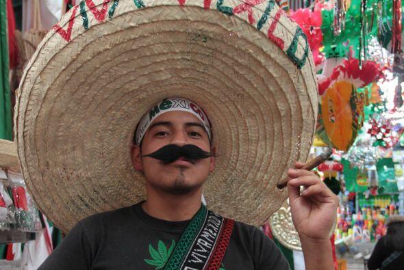Como cada 15 de septiembre los mexicanos celebran su independencia.