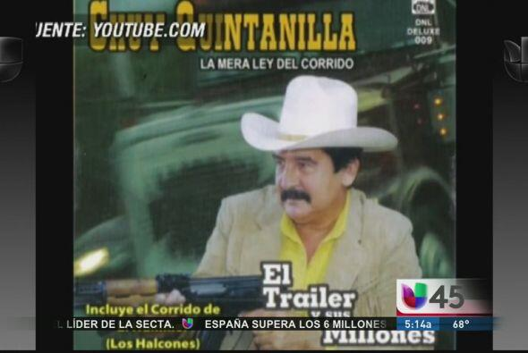 El cantante de narcocorridos Chuy Quintanilla fue encontrado muerto con...
