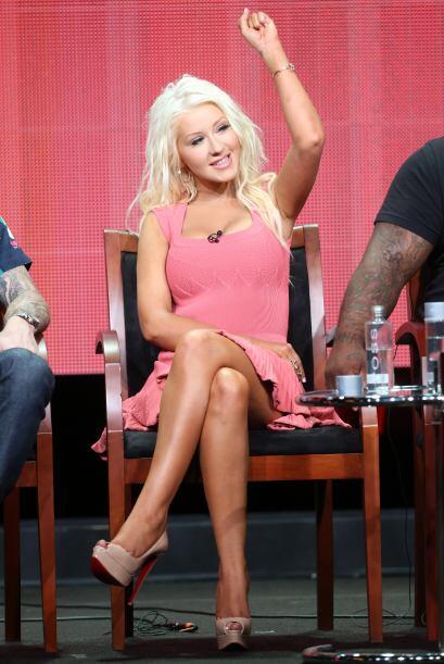 Christina Aguilera, divina. Mira aquí lo último en chismes.