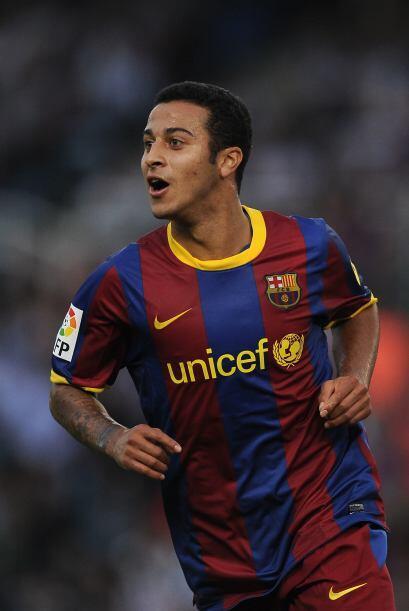 Thiago convirtió su segundo gol de la temporada.