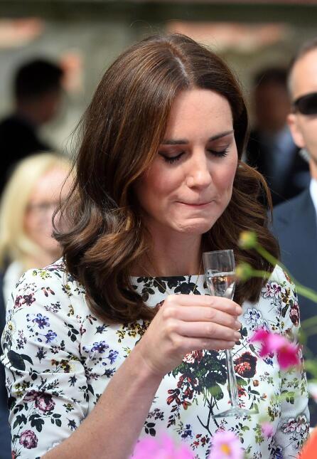 Si le gustó o no, será un secreto que probablemente Kate Middleton se ll...