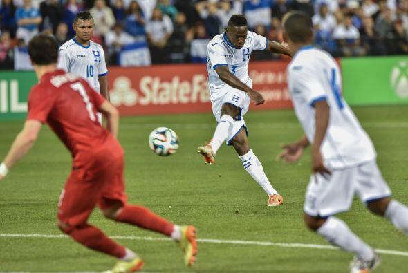 Honduras reaccionó tras el 2-0 pero ya tarde y sin muchos argumentos.