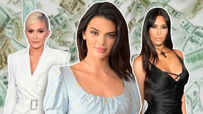 Kendall no es la más adinerada del clan Kardashian-Jenner pero sí es la modelo mejor pagada del mundo