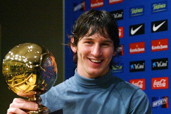 En el 2005 el argentino fue premiado por la revista italiana Tuttosport...