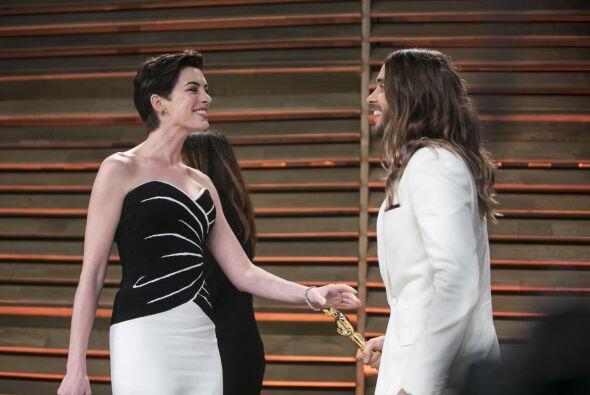 Parece que la ganadora del Oscar lo tomó con gracia. Más videos de Chism...