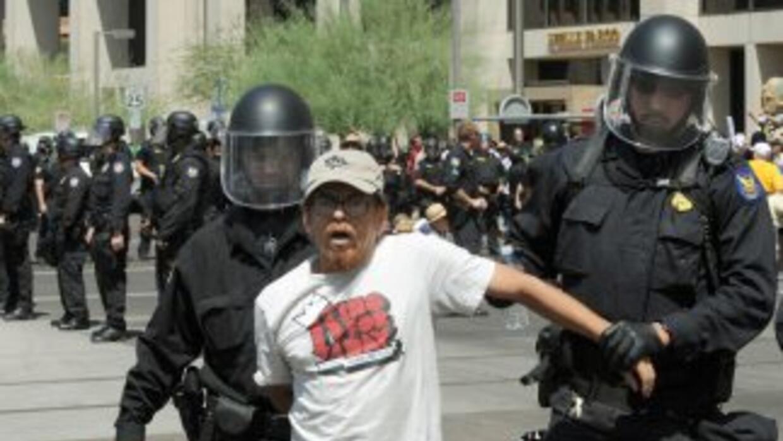 El Acta de Confianza busca impedir que las policías entreguen a indocume...
