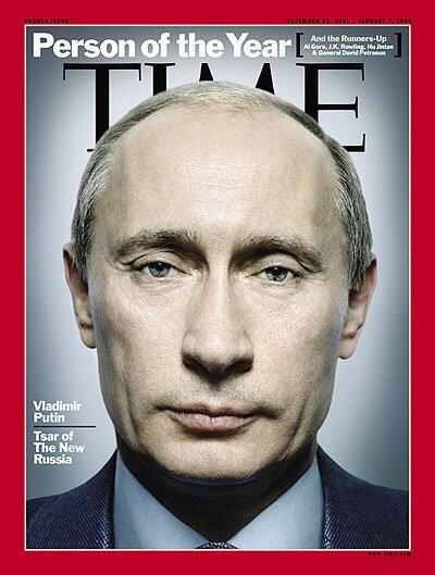 Donald Trump no es el primer personaje la que la revista Time adorna con...