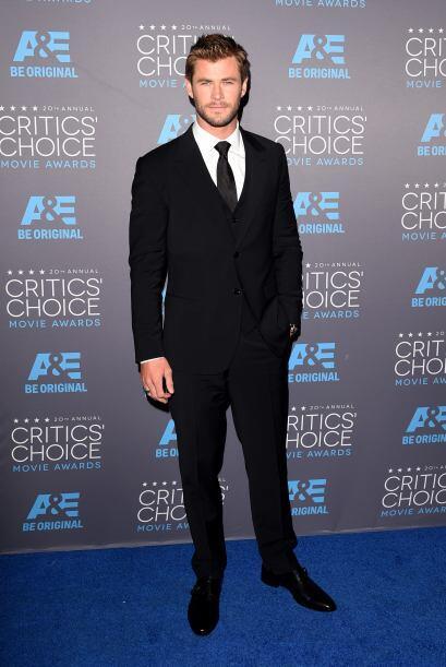 ¡Papacito!, perdón, quisimos decir que se veía muy bien Chris Hemsworth.