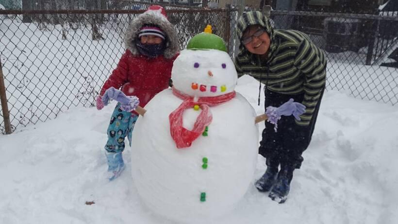 ¡Nieve, nieve, nieve! Así pasa el tiempo nuestra audiencia...