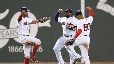 Boston venció 13-5 a Oakland