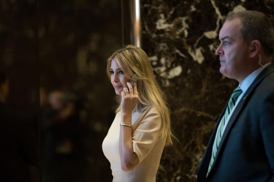 Ivanka Trump tendrá una oficina en la Casa Blanca GettyImages-622407668.jpg
