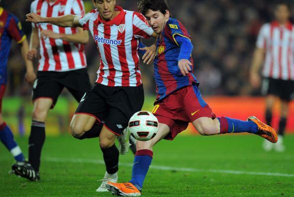 Lionel Messi tenía la oportunidad de igualar a Cristiano Ronaldo como el...