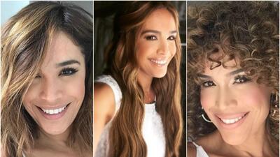 Karla Martínez está estrenando nuevo look: mira cómo la hemos visto cambiar (fotos)