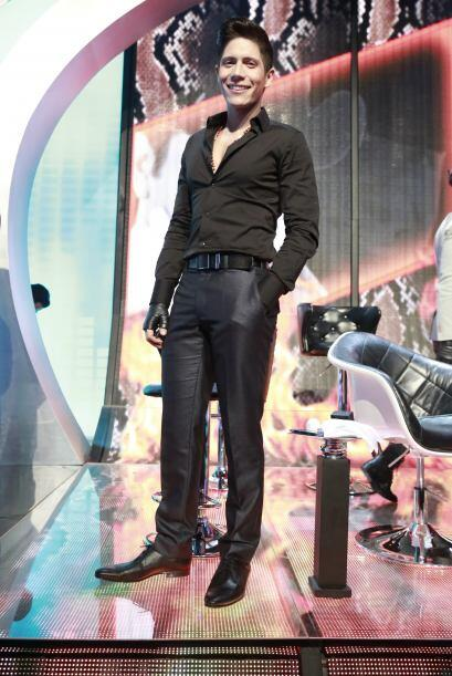 Fernando Corona al inicio de la séptima gala.