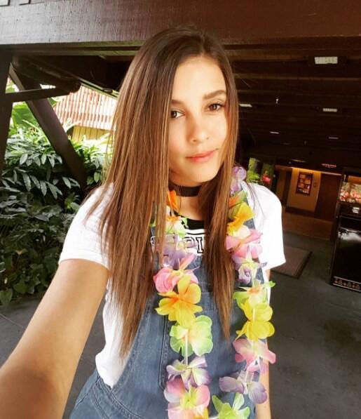 Paulina Goto cabello Pequeños Gigantes USA
