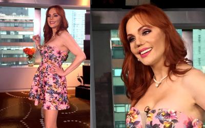 Carmen Campuzano en Despierta América el 7 de junio de 2017.