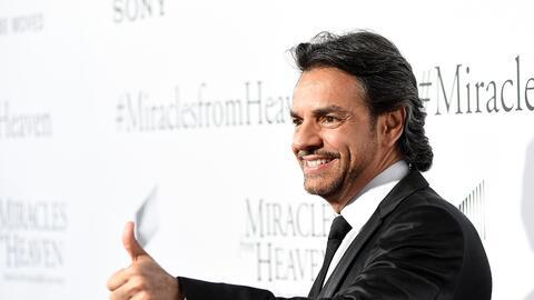 Eugenio Derbez en la premiere de 'Miracles From Heaven'