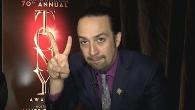 Lin-Manuel Miranda celebró con café cubano las nominaciones de 'Hamilton...
