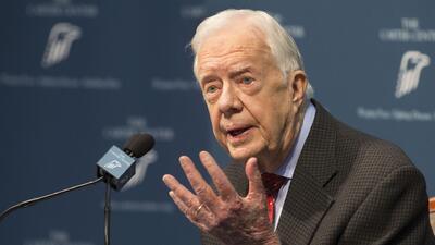 "Expresidente Carter: ""Estoy preparado para lo que venga"""