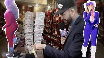 Son sus consentidas: Chiquis Rivera no deja de usar las botas como las que Jomari Goyso encontró a bajo precio