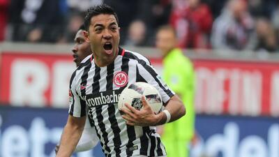 Doblete de Marco Fabián con Eintracht Frankfurt: ¿va tras las huellas de 'Chicharito'?