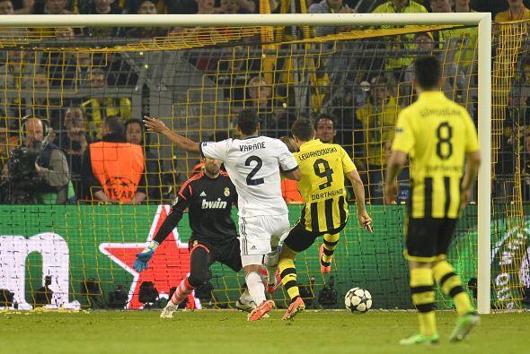 La polémica comenzó a presentarse en el juego cuando todo el Madrid pedí...