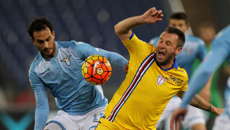 La Lazio empató con la Sampdoria