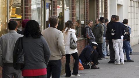 Tasa de desempleo bajó a 4,4 % en abril