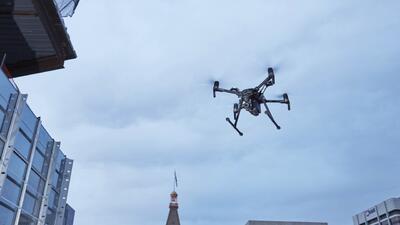 Drones para combatir la delincuencia, el novedoso programa de la policía de Nueva York