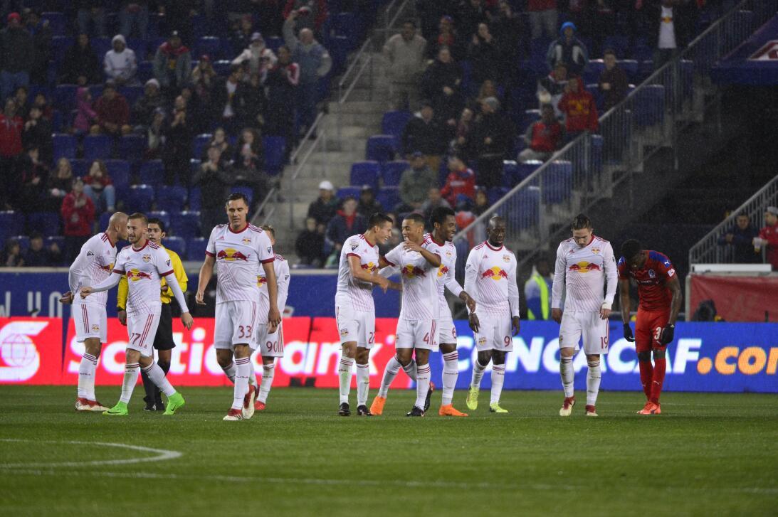 Red Bulls superó a Olimpia y selló su pase a cuartos de la Concacaf Liga...