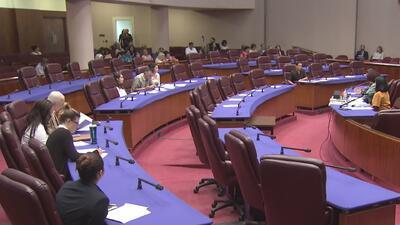 Afectados por la separación familiar de inmigrantes dan su testimonio ante el Concilio Municipal de Chicago