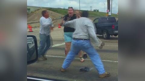 Incidente de furia al volante en Houston