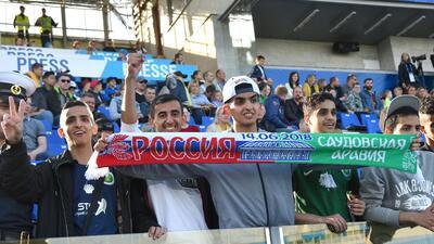 Rusia entró a la historia en duelos inaugurales de los Mundiales, donde México sobresale