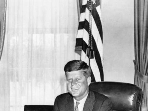 John Fitzgerald Kennedy fue el presidente número 35 y gobern&oacu...