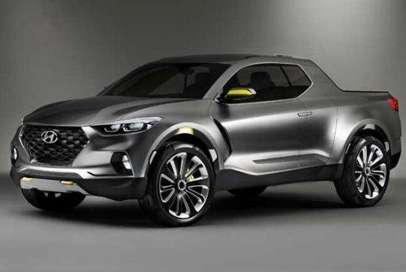 Hyundai Santa Cruz Concept: Desarrollado con una fisonomía de pick-up pe...