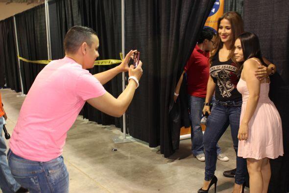 """Jackie Guerrido visito la ciudad de Houston para participar en """"Fam..."""