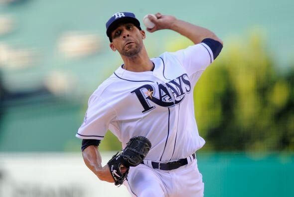 David Price de los Rays de Tampa, fue el abridor del juego.