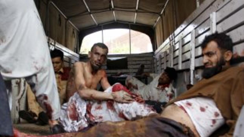 El atentado apuntaba a los cadetes de un centro de entrenamiento de la F...