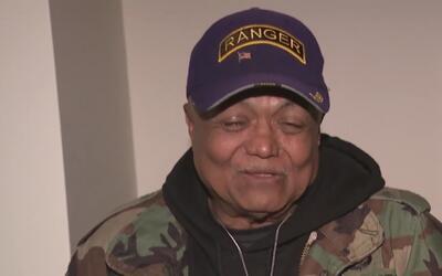 Veterano de guerra pasó de vivir en un albergue a tener su propio aparta...
