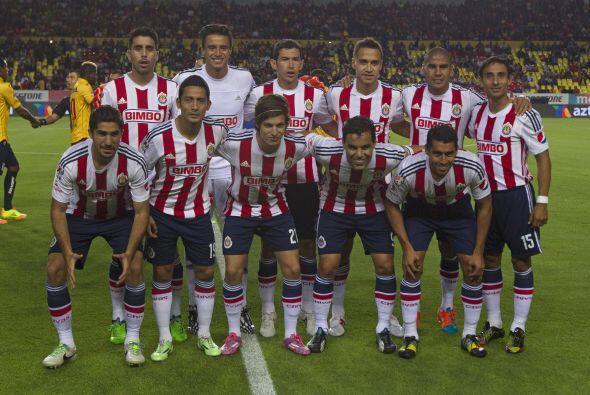 4. Chivas es el equipo mejor colocado en la lista y a pesar del drana qu...