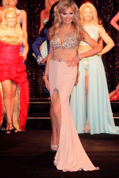 Kasha Grimes de 53 años entro a la categoría de Mrs Galaxy UK.