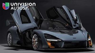 Este es el McLaren Senna, el carro callejero más extremo en la historia de la marca