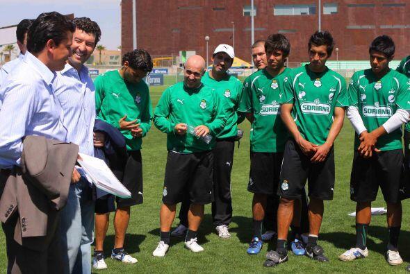 Fernando Arce, Oribe Peralta, Juan Pablo Rodríguez, Oswaldo Sánchez, Ivá...