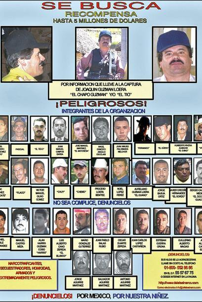 El cártel de Sinaloa ha ido perdiendo a sus líderes poco a poco.