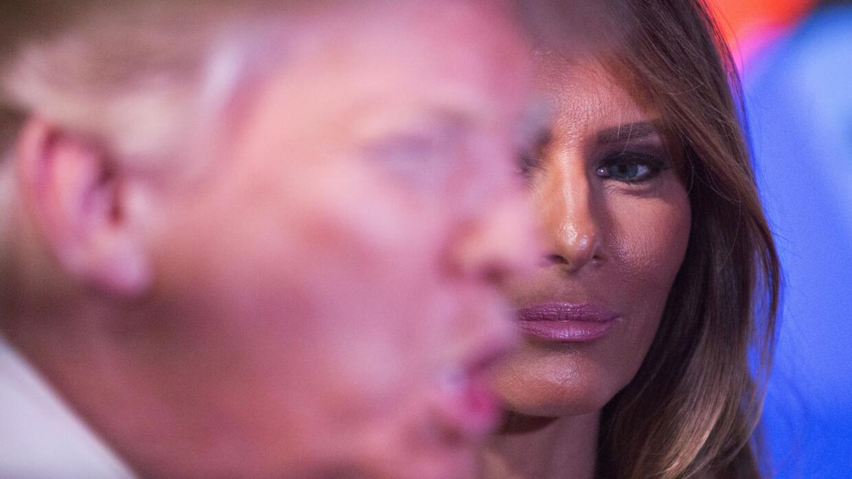 Esposa de Trump respalda sus propuestas antiinmigrantes GettyImages-5101...