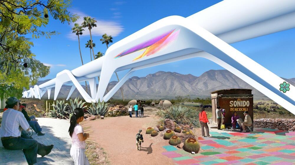 La propuesta prevé la creación de Otra Nation, una co-nación mexicana y...