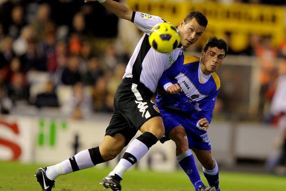 Valencia dominó el encuentro, sin que Getafe fuera un rival sencillo.